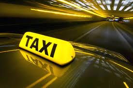 city yellow cab